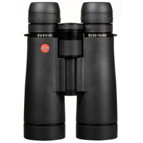 Leica 10/15x50 Duovid Binocular, Black