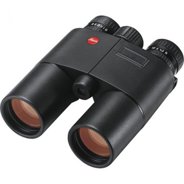 Leica 10x42 Geovid-R - Meters w/ EHR Binoculars / Rangefinder