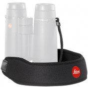 Leica Neoprene Bino Neck Strap - Pitch Black