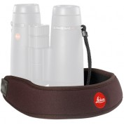 Leica Neoprene Bino Neck Strap - Chocolate Brown