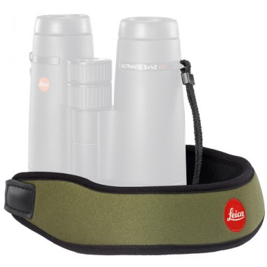 Leica Neoprene Bino Neck Strap - Olive Green