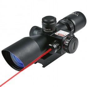 Optics Hunting Rifle Scope 2.5-10x40e Red & Green